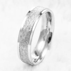 Titanium Stainless Steel Brushed Band Various Size